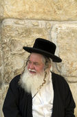 Old jew man in Jerusalem — Stock Photo