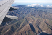 View from the plane at La Gomera — Stock Photo