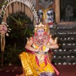 Bali dance evening — Stock Photo #16637311