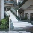 Giant stairs in luxury building — ストック写真