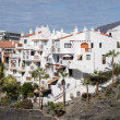 Houses in los gigantes on tenerife — Stock Photo