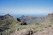 The road to masca on tenerife — Stock Photo