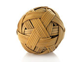 Rattan ball used in asia sport — Stock Photo