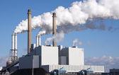 Energy plant n holland — Stock Photo