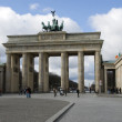 Berlin brandenburger tor - 图库照片