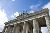 Berlin brandenburger tor — Stock Photo