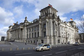 The reichstag berlin government building — Stock Photo