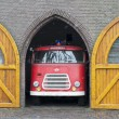 Stock Photo: Old fire truck in holland