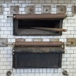 Old bread oven used in monastery - Stockfoto