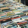 Books on the book market - 图库照片