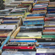 Stock Photo: Books on book market