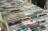 Books on the book market — Stock Photo