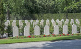 Militairy cementry in Holland — Stock Photo