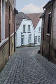 Street in bad bentheim — Stock Photo