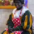 Dutch zwarte piet — Stock Photo