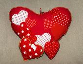 Hand made hart shape — Foto de Stock