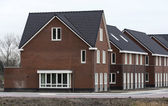 New build houses in holland — Stock Photo