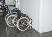 Two wheelchair in hospital — Stock Photo