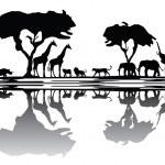 Постер, плакат: Africa nature