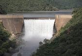The swadini dam — Stock Photo