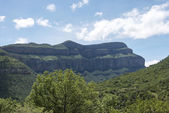 Drakensberg in south africa near hoedspruit — Stock Photo
