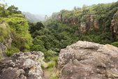 Rocks and mountains around sabie south africa — Stock Photo