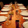 Family dinner - Foto Stock