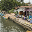 Stock Photo: Dutch canal in Negombo