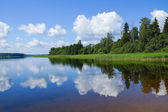 Lake Seliger. — Stockfoto