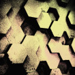 Stock Photo: Background from hexagons.
