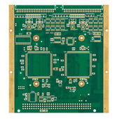 Empty printed circuit board (PCB) — Stock Photo