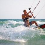 kitesurfing — Stockfoto