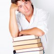Young man with books — Stock Photo #13409828