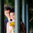 Bride and groom — Stock Photo #15310367