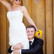 Bride and groom — Stock Photo #15310383
