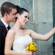 Bride and groom — Stock Photo #15310385