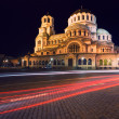 alexander nevski cathedral in sofia — Stock Photo