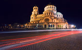 Alexander Nevski cathedral in Sofia — Stock Photo