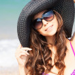 Stockfoto: Girl on the beach