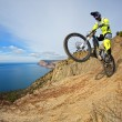 Mountain bike rider - Photo