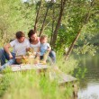 Family on picnic — Stockfoto #21147517