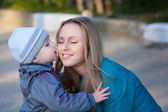 Mother with son — Stock Photo