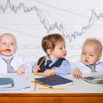 Little businessman — Stock Photo #40553761