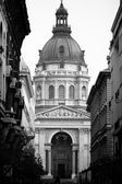 St. Stephen's Basilica in Budapest — Stock Photo