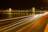 Budapest at the evening — Stok fotoğraf