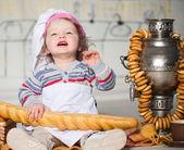 Little baker — Stock Photo