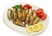 Stuffed Sardines — Stock Photo