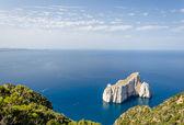 Pan di Zucchero cliff — Stock Photo