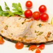 Swordfish, mediterranean cuisine — Stock Photo