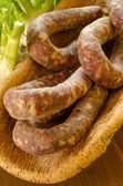 Sardinian Sausage — Stock Photo